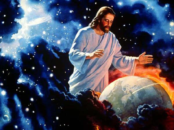 foto cuando dios creo mundo: